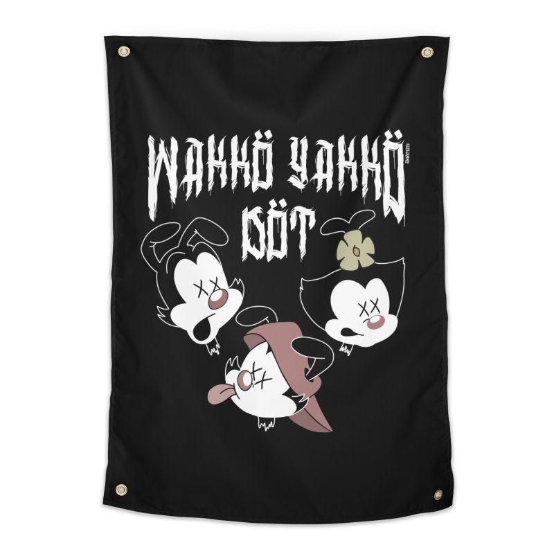 Wakko Yakko Dot Home Tapestry by ZOMBIETEETH