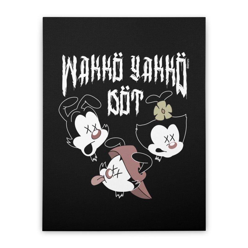 Wakko Yakko Dot Home Stretched Canvas by ZOMBIETEETH