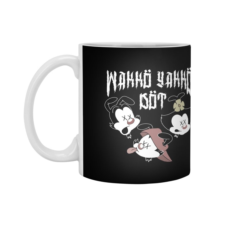 Wakko Yakko Dot Accessories Mug by ZOMBIETEETH