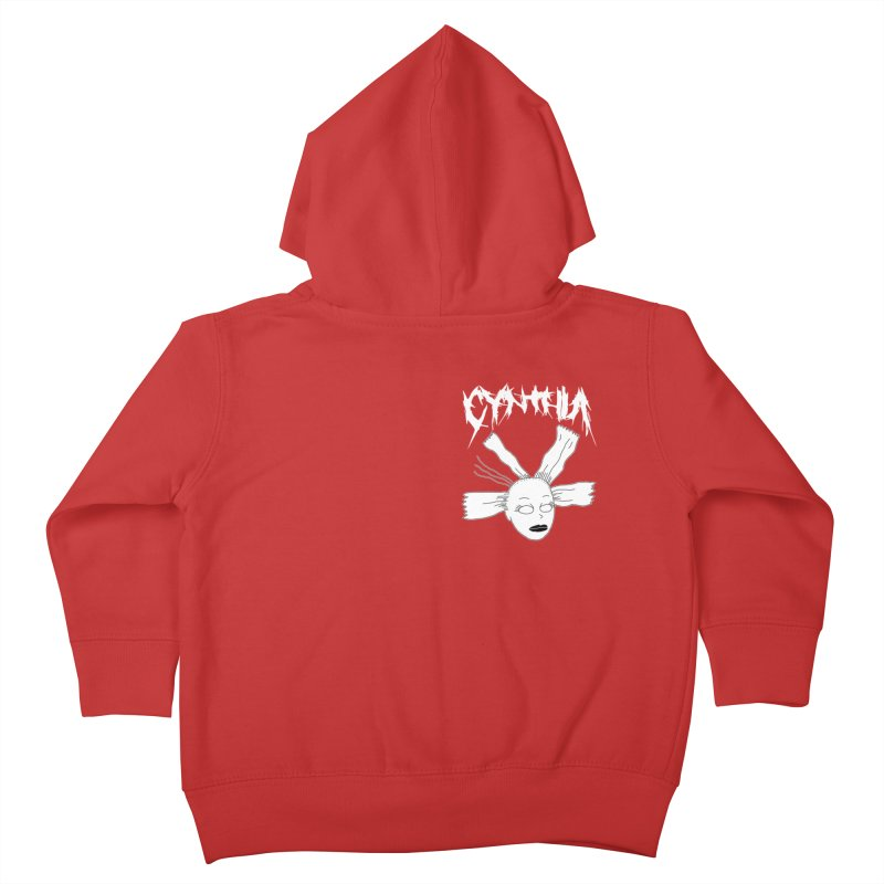 Cynthia chest print Kids Toddler Zip-Up Hoody by ZOMBIETEETH