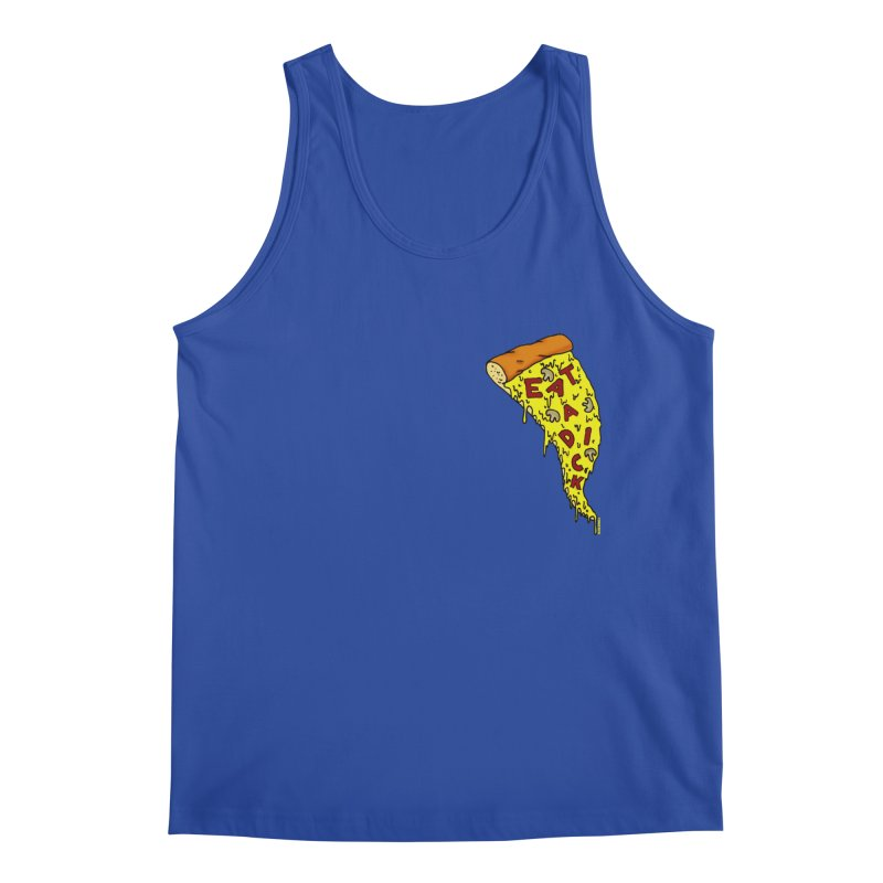 Eat a Dick chest print Men's Regular Tank by ZOMBIETEETH