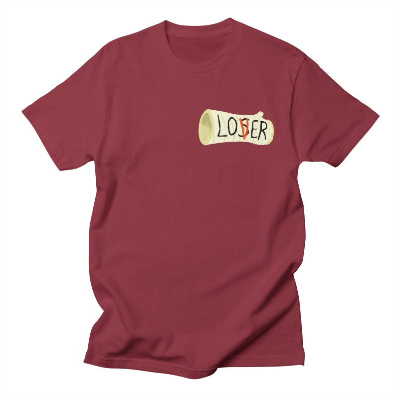 Losers club chest print Women's Regular Unisex T-Shirt by ZOMBIETEETH