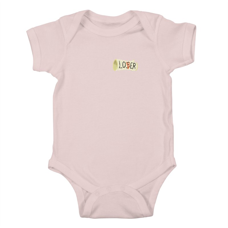 Losers club chest print Kids Baby Bodysuit by ZOMBIETEETH