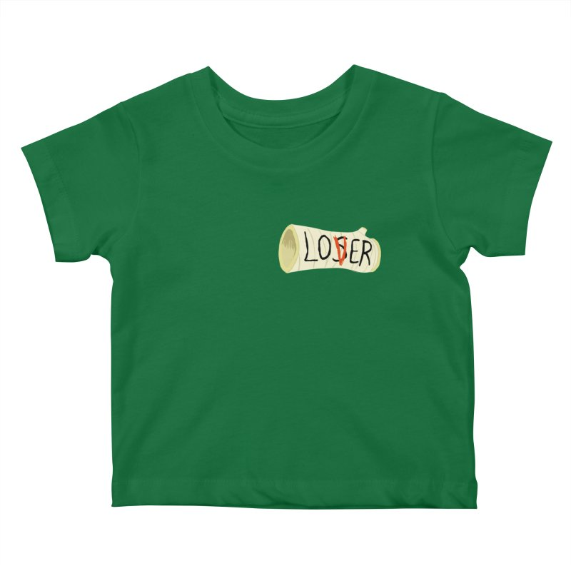 Losers club chest print Kids Baby T-Shirt by ZOMBIETEETH