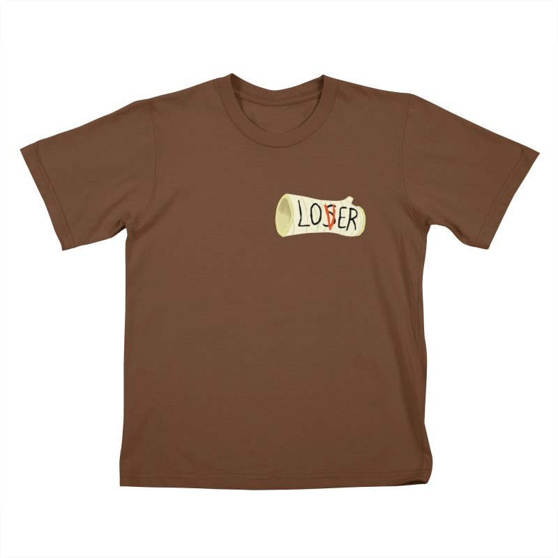 Losers club chest print Kids T-Shirt by ZOMBIETEETH