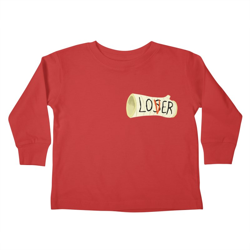 Losers club chest print Kids Toddler Longsleeve T-Shirt by ZOMBIETEETH