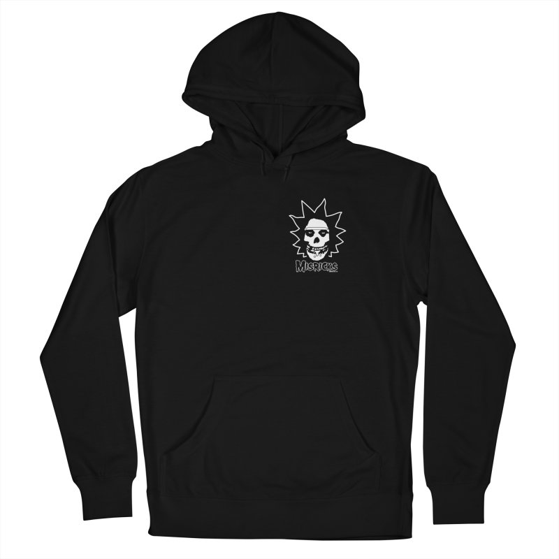 Misricks chest print Women's Pullover Hoody by ZOMBIETEETH