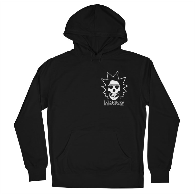 Misricks chest print Men's French Terry Pullover Hoody by ZOMBIETEETH