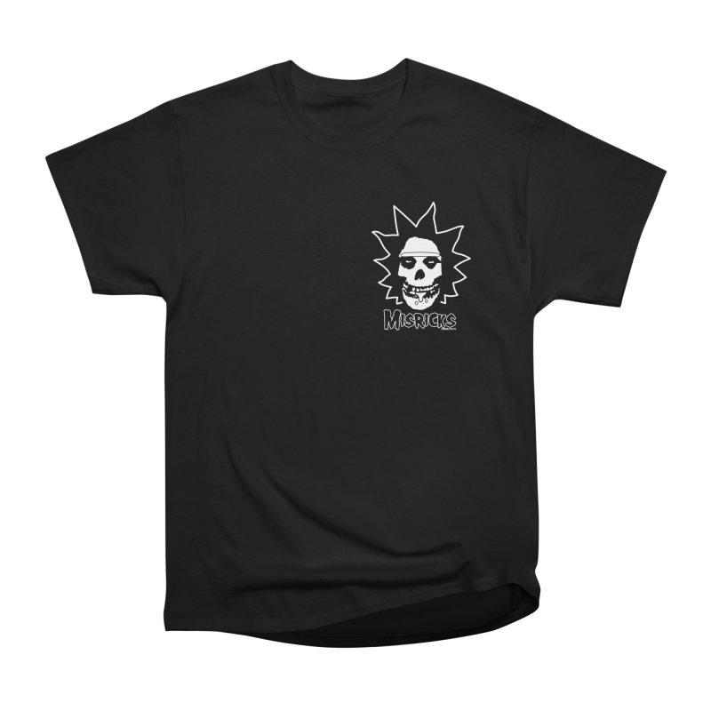 Misricks chest print Women's Heavyweight Unisex T-Shirt by ZOMBIETEETH