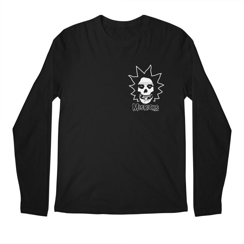 Misricks chest print Men's Regular Longsleeve T-Shirt by ZOMBIETEETH