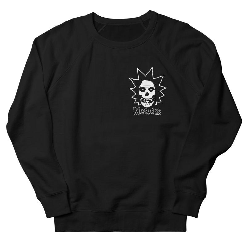 Misricks chest print Men's French Terry Sweatshirt by ZOMBIETEETH