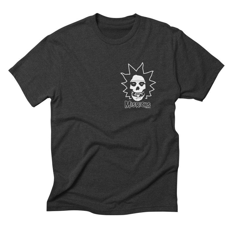Misricks chest print Men's Triblend T-Shirt by ZOMBIETEETH