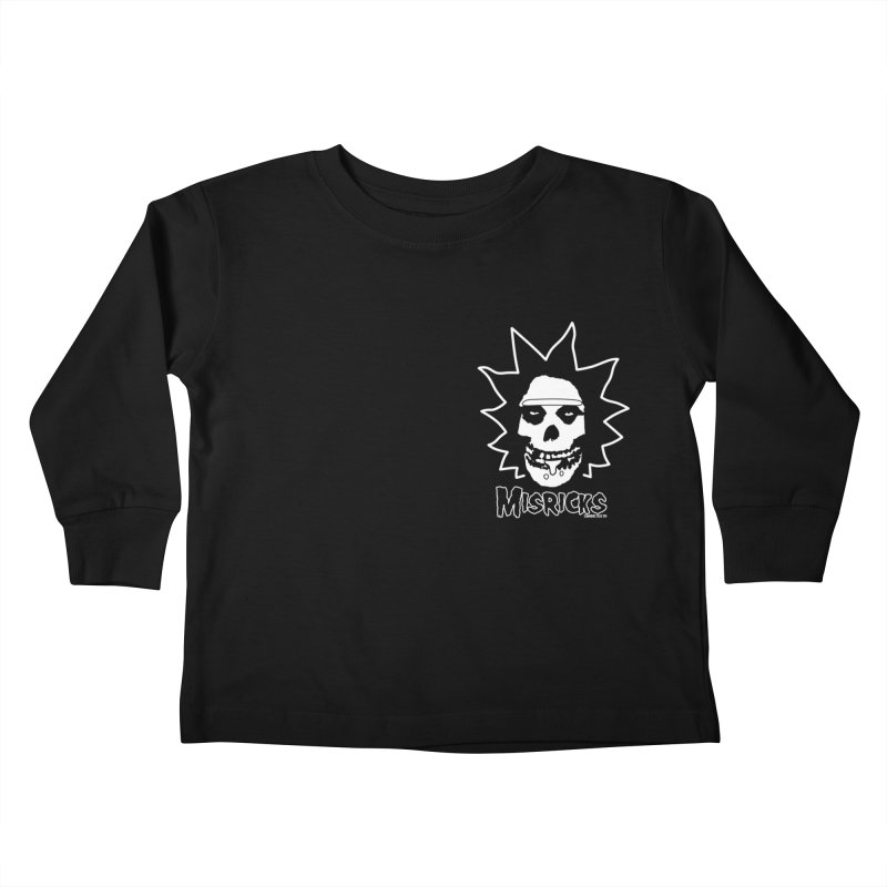 Misricks chest print Kids Toddler Longsleeve T-Shirt by ZOMBIETEETH