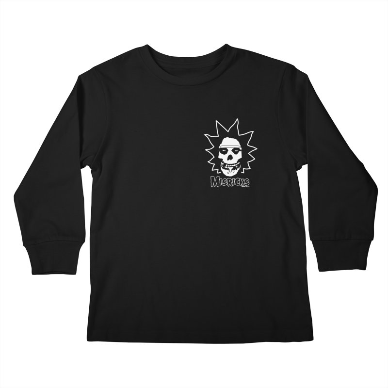 Misricks chest print Kids Longsleeve T-Shirt by ZOMBIETEETH