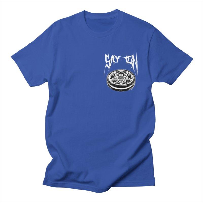 Say Ten chest print Women's Regular Unisex T-Shirt by ZOMBIETEETH