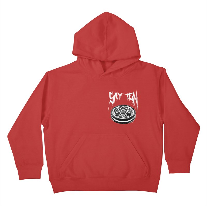 Say Ten chest print Kids Pullover Hoody by ZOMBIETEETH