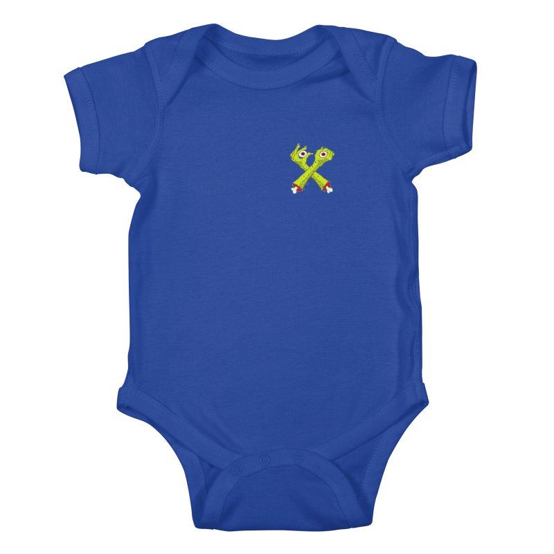 Zombie Arms chest print Kids Baby Bodysuit by ZOMBIETEETH