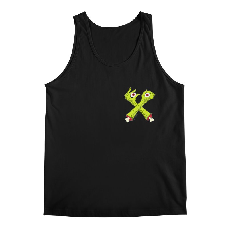 Zombie Arms chest print Men's Regular Tank by ZOMBIETEETH
