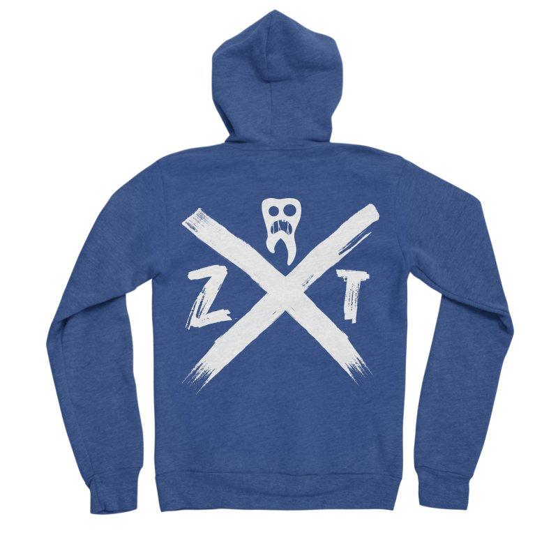 Edge Men's Sponge Fleece Zip-Up Hoody by ZOMBIETEETH