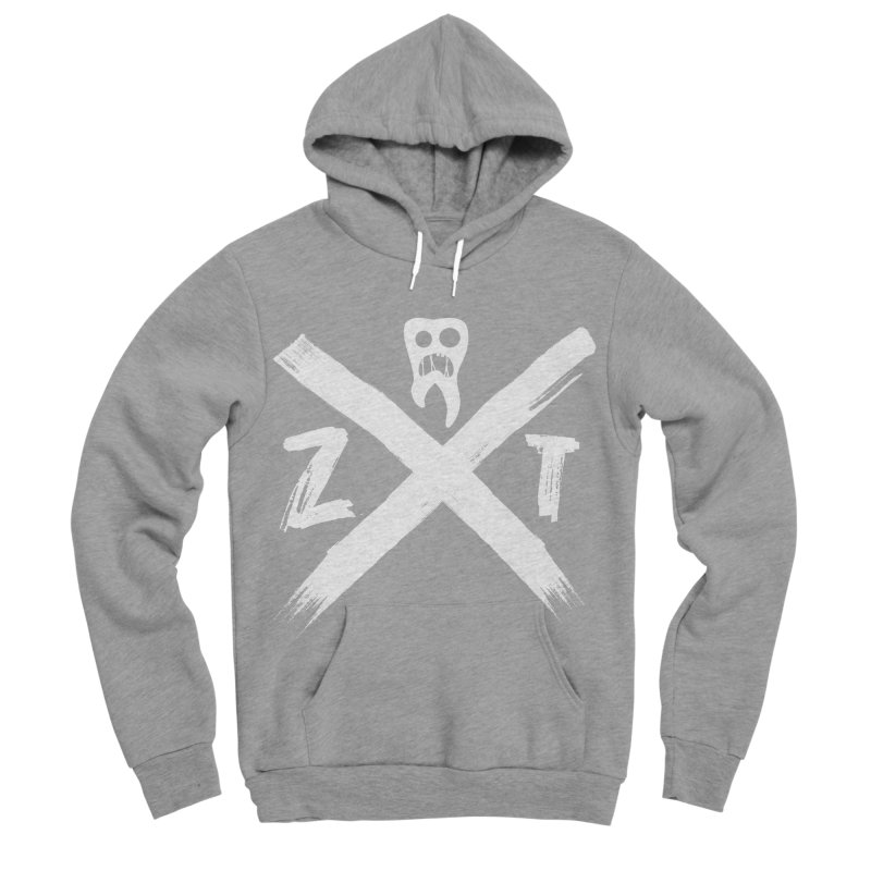 Edge Men's Sponge Fleece Pullover Hoody by ZOMBIETEETH