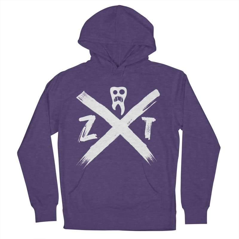 Edge Women's French Terry Pullover Hoody by ZOMBIETEETH
