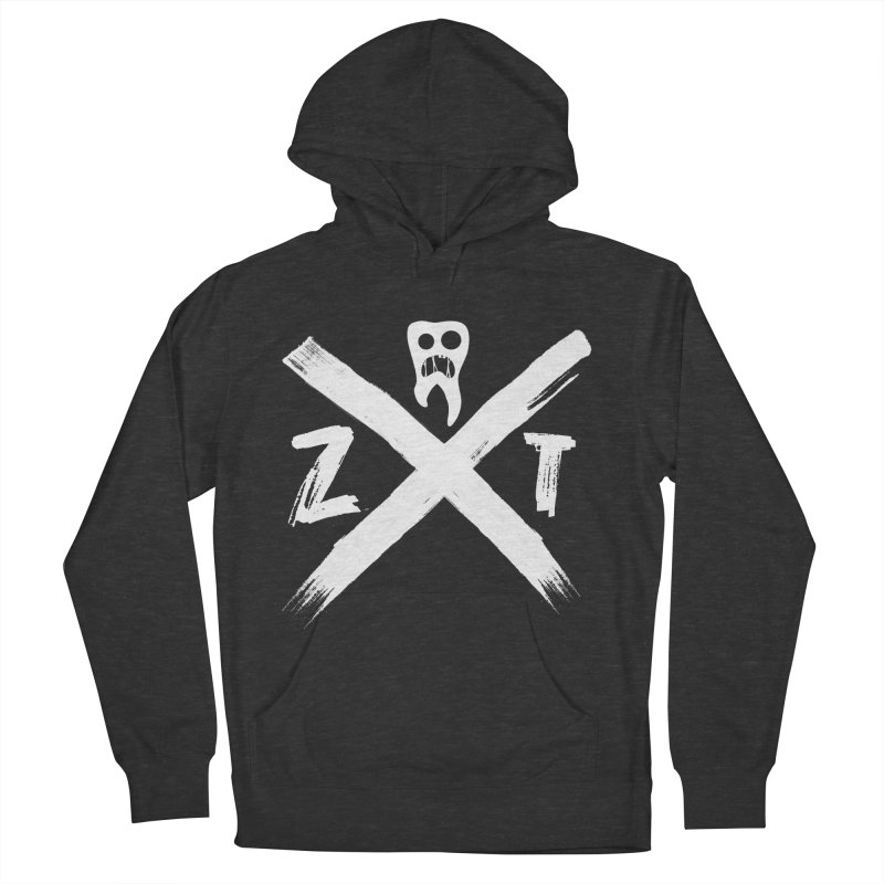 Edge Men's French Terry Pullover Hoody by ZOMBIETEETH