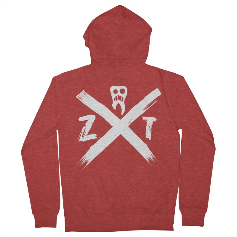 Edge Women's French Terry Zip-Up Hoody by ZOMBIETEETH