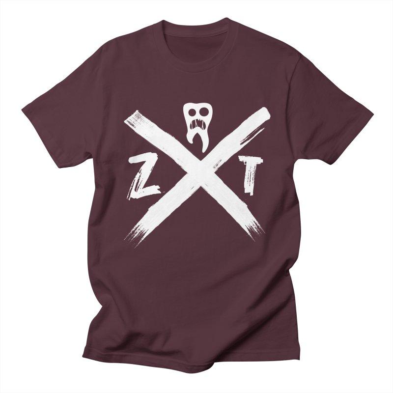 Edge Men's Regular T-Shirt by ZOMBIETEETH