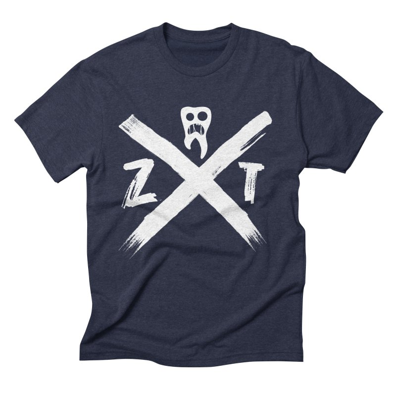 Edge Men's Triblend T-Shirt by ZOMBIETEETH