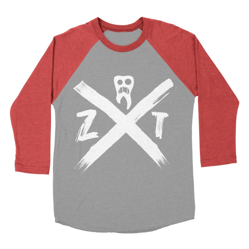 Edge Women's Baseball Triblend Longsleeve T-Shirt by ZOMBIETEETH