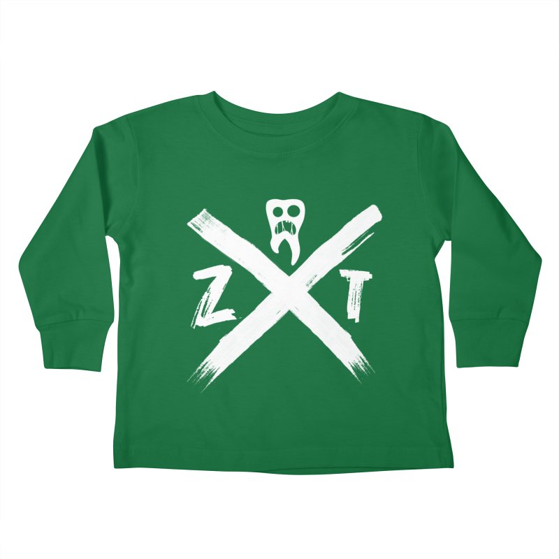 Edge Kids Toddler Longsleeve T-Shirt by ZOMBIETEETH