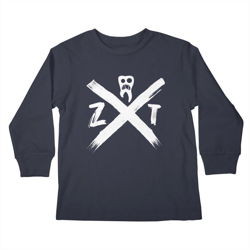 Edge Kids Longsleeve T-Shirt by ZOMBIETEETH