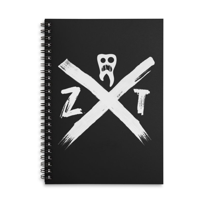 Edge Accessories Lined Spiral Notebook by ZOMBIETEETH