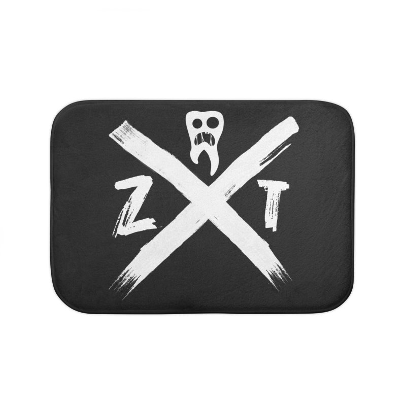 Edge Home Bath Mat by ZOMBIETEETH