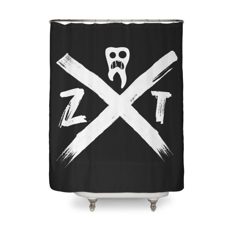 Edge Home Shower Curtain by ZOMBIETEETH