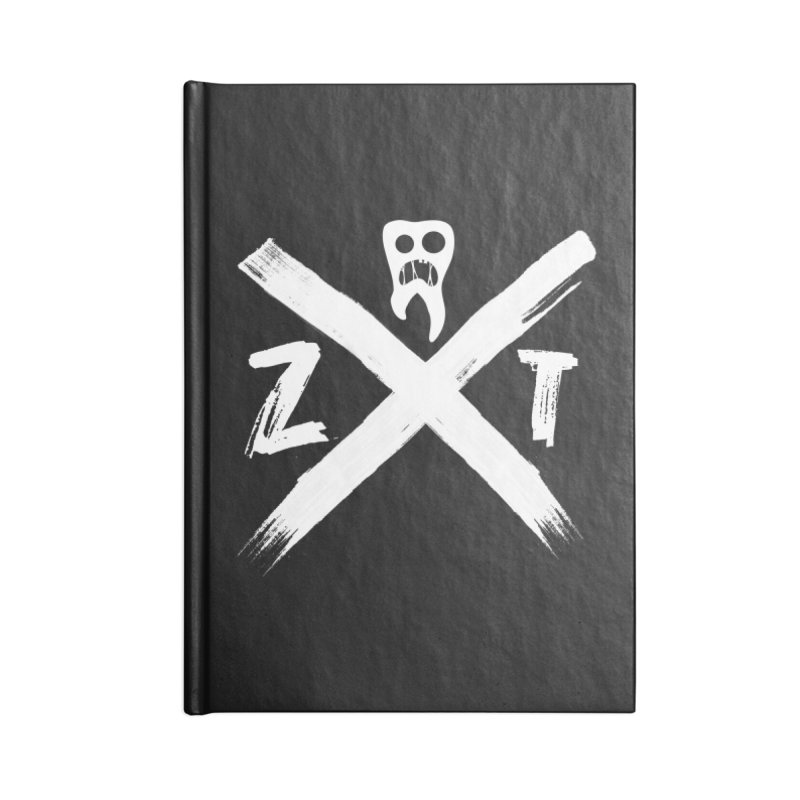 Edge Accessories Lined Journal Notebook by ZOMBIETEETH
