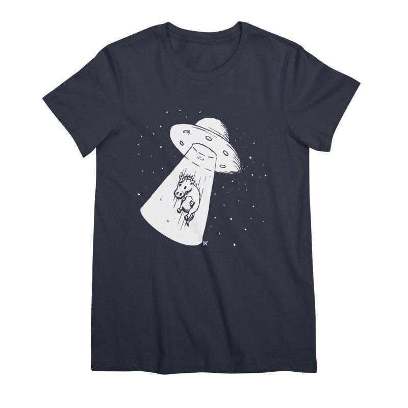Take me to your Unicorn Women's Premium T-Shirt by ZOMBIETEETH