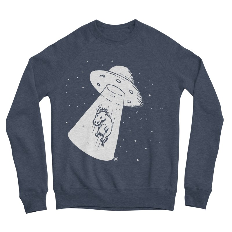 Take me to your Unicorn Men's Sponge Fleece Sweatshirt by ZOMBIETEETH