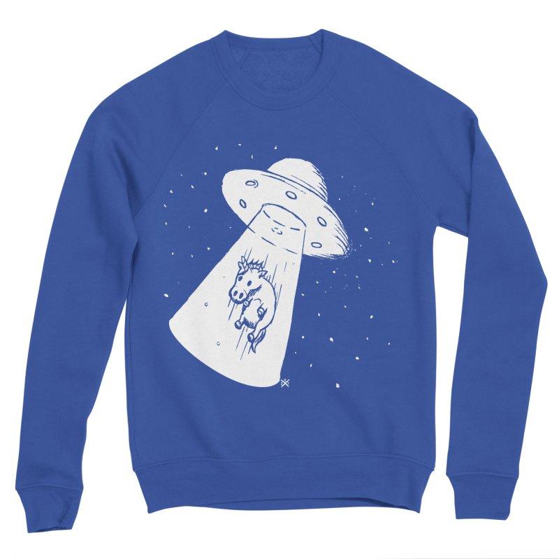 Take me to your Unicorn Men's Sponge Fleece Sweatshirt by ZOMBIETEETH