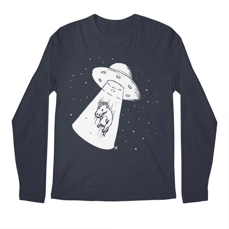 Take me to your Unicorn Men's Regular Longsleeve T-Shirt by ZOMBIETEETH