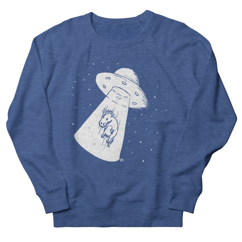Take me to your Unicorn Men's French Terry Sweatshirt by ZOMBIETEETH