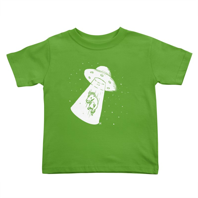 Take me to your Unicorn Kids Toddler T-Shirt by ZOMBIETEETH