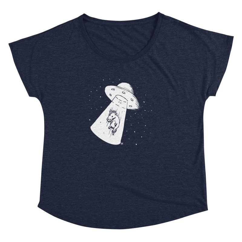 Take me to your Unicorn Women's Dolman Scoop Neck by ZOMBIETEETH