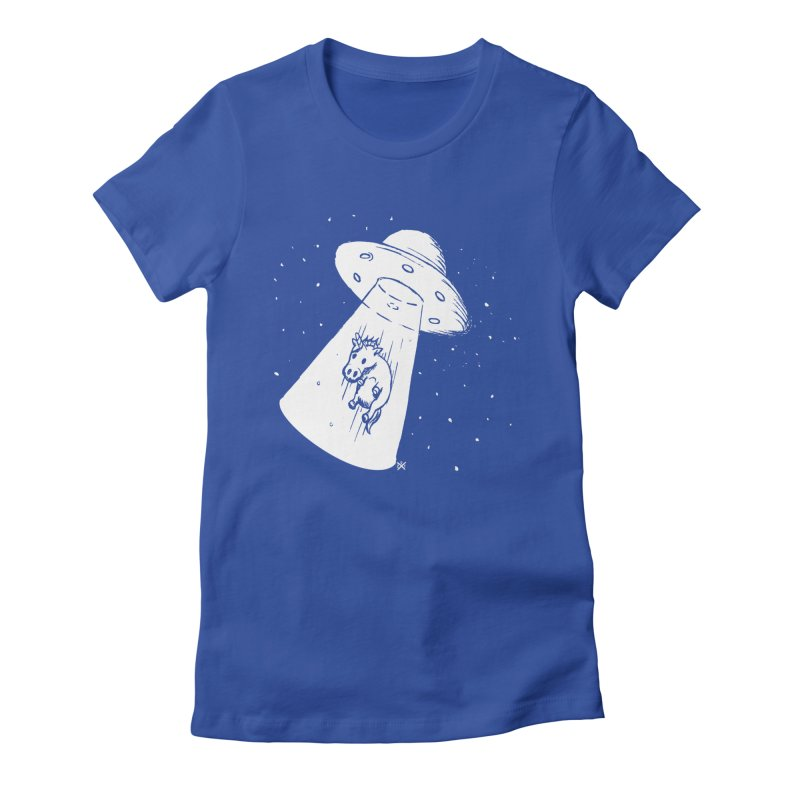 Take me to your Unicorn Women's Fitted T-Shirt by ZOMBIETEETH