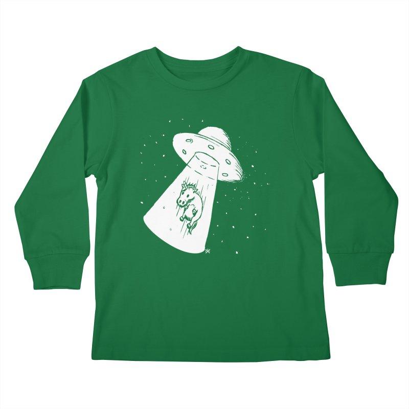 Take me to your Unicorn Kids Longsleeve T-Shirt by ZOMBIETEETH