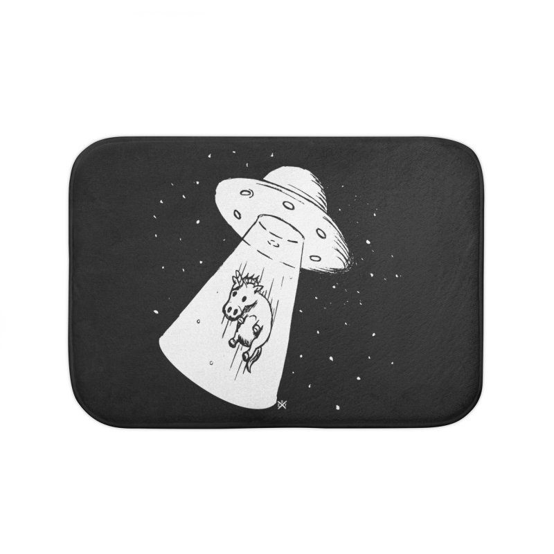Take me to your Unicorn Home Bath Mat by ZOMBIETEETH