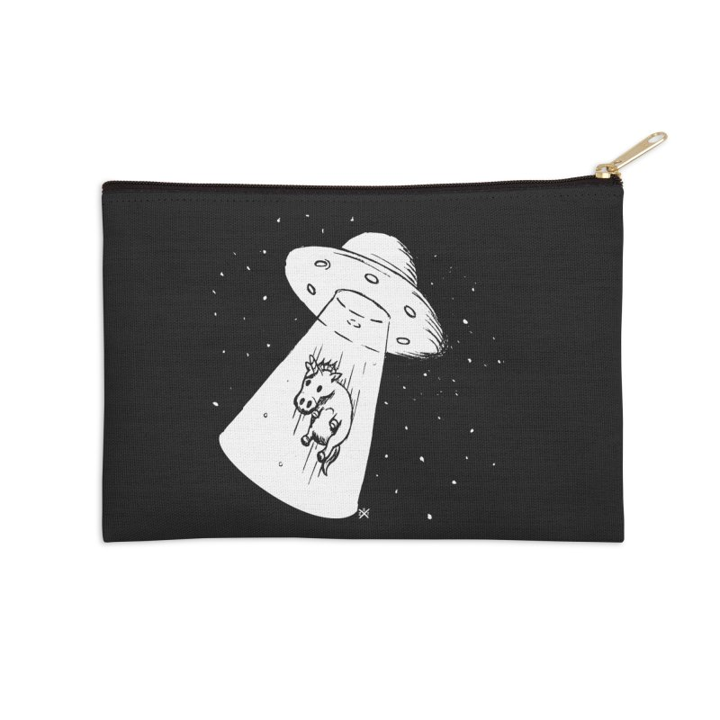 Take me to your Unicorn Accessories Zip Pouch by ZOMBIETEETH