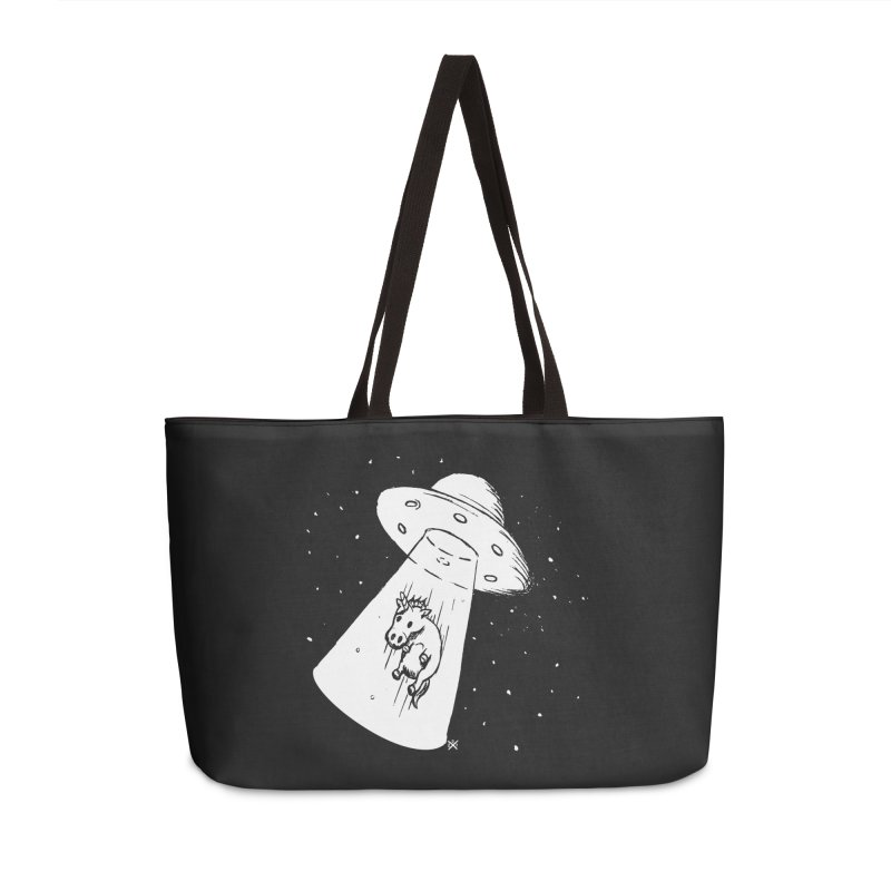 Take me to your Unicorn Accessories Weekender Bag Bag by ZOMBIETEETH