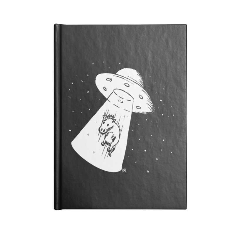 Take me to your Unicorn Accessories Blank Journal Notebook by ZOMBIETEETH