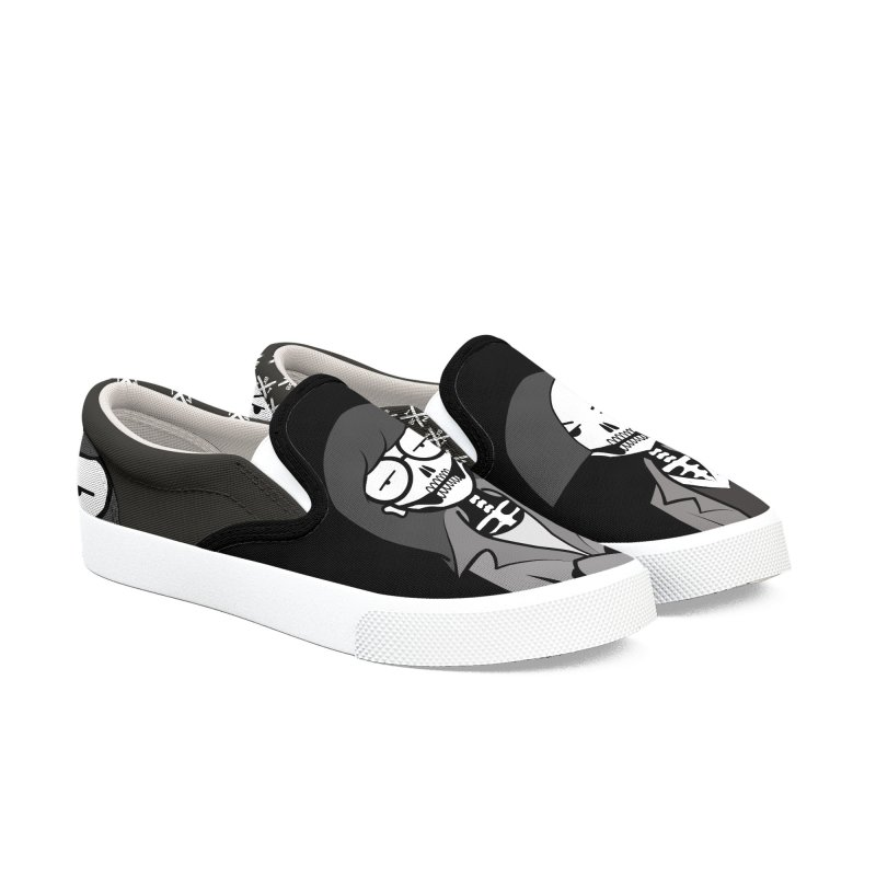 Sick Sad World Women's Slip-On Shoes by ZOMBIETEETH